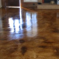 Water-based Stained Concrete