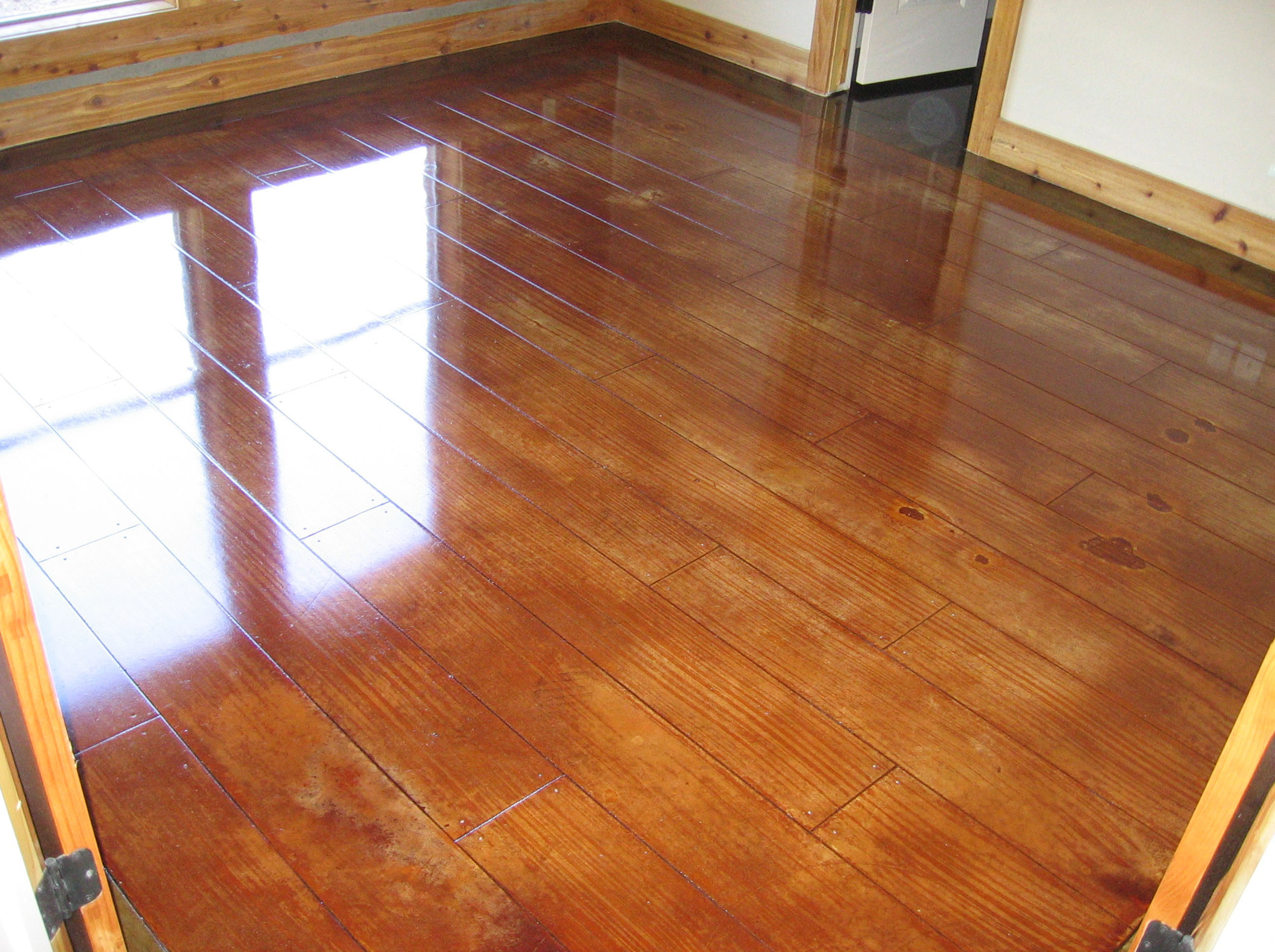 stained concrete - viole crown concrete and stain 2