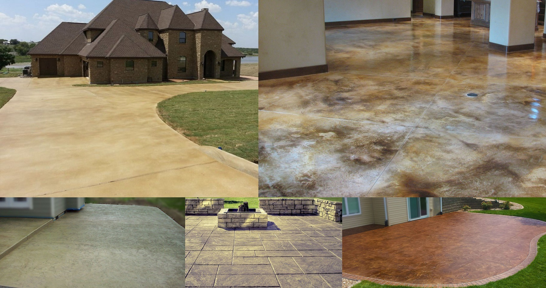 Concrete Walkways, Patios, Driveways